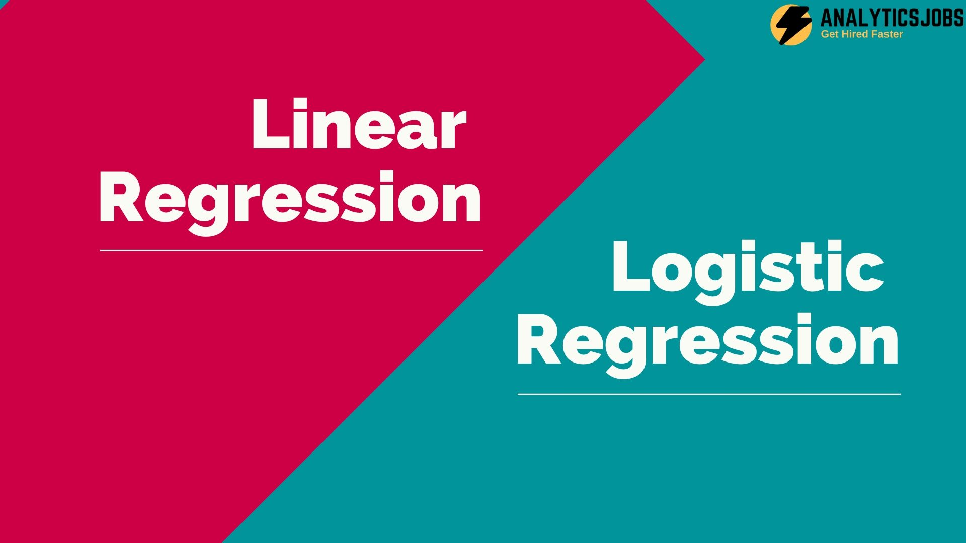 Types of regression in Machine Learning