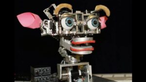 Kismet, a robot that could understand and simulate feelings with its face
