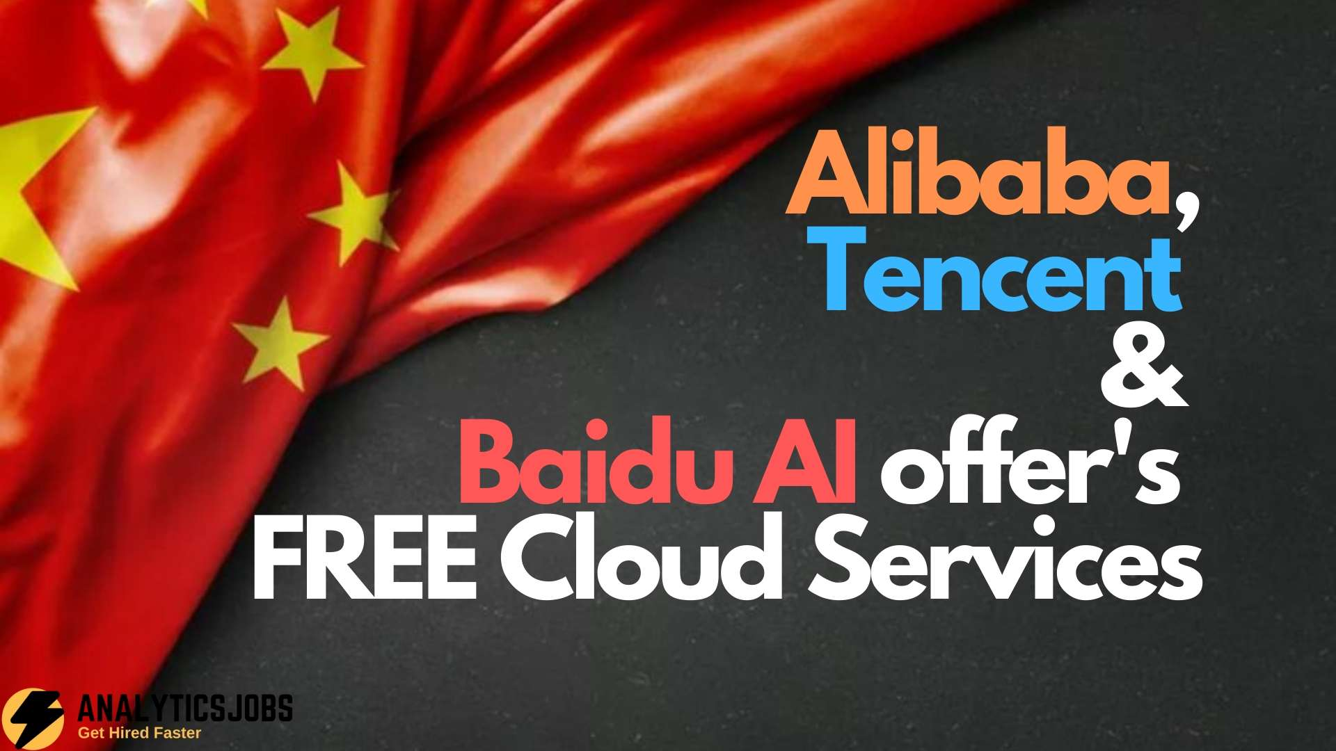 Alibaba, Tencent and Baidu AI offer's FREE Cloud Services to Face the CORONAVIRUS Pandemic
