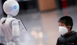 China is using Robots to spread awarness