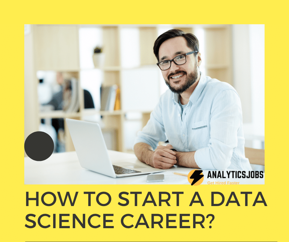 how to start a data science career